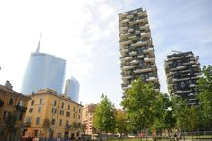 Milano/Milan/Mailand bosco verticale  Vertical forest