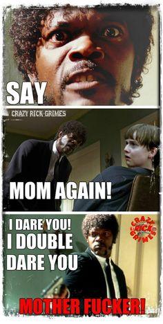 Crazy Rick Grimes