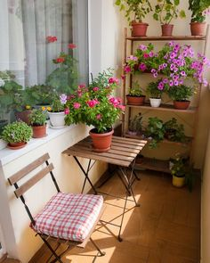 39 Awesome Small Balcony Ideas To Make Your Apartment Look Great Balcony design is quite critical for the appearance of the house. There are many beautiful tips for balcony design. Don't be scared to fill the space with Small Balcony Design, Small Balcony Garden, Balcony Flowers, Small Balcony Decor, Balcony Plants, Outdoor Balcony, House Plants Decor, Balcony Ideas, Small Balconies