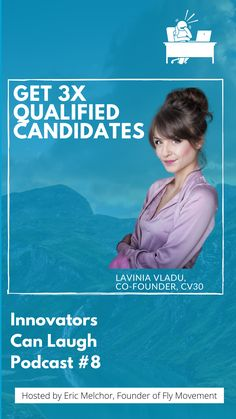 In this episode of Innovators Can Laugh, I sat down with Lavinia Vladu, co-founder of CV30. We discussed how their platform helps companies present themselves in a fun and collaborative way. Digital Backgrounds, Good Grades, The Marketing, Co Founder, Get The Job, Other People, Books To Read, Innovation, High School