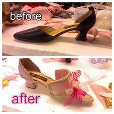 18th Century shoe tutorial