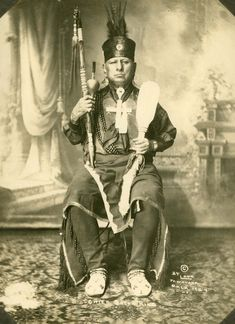 Chief Bacon Rind, Chief of the Osage Indians