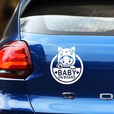 Lovely cartoon GIRL BABY ON BOARD decoration car sticker,reflective auto window tail warning stickers and decals styling glue