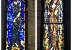 ¡La Virgen qué vidrieras!