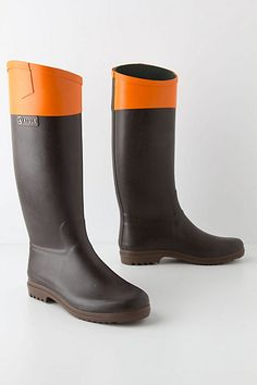 Color Tipped Rain Boot, handmade in France | 20 Adorable Wellies Fit for the English Countryside