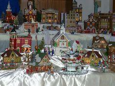 I love my Dept 56 Christmas Village.