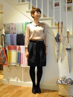 SOULEIADO × JIYUGAOKA 3 - TOMORROWLAND Tomorrowland : I love this blouse and adorable hair!