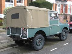 """LAND ROVER SERIES ONE 86"""" SOFT TOP GREEN   eBay"""