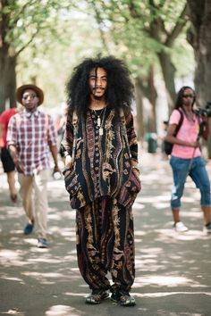 The Hottest Guys at Afropunk - Essence Punk Rock Outfits, 70s Outfits, Outfits Hippie, Fashion Outfits, Scene Outfits, Fashion Boots, Hippy Fashion, Afro Punk Fashion, Lolita Fashion