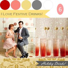 I LOVE Festive Drinks!  http://www.theperfectpalette.com/2011/12/when-it-comes-to-holidays-i-think-its.html