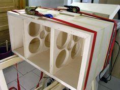 QUATTRO-mkII Diy Speakers, Speaker Design, Crossover, Magazine Rack, Audio, Cabinet, Storage, Projects, Furniture