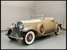 1931 Cadillac V-12 Convertible Coupe 368/135 HP, 3-Speed, Rumble Seat Sold for $175,000