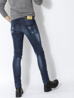 Yeezy Fashion, Men Fashion, Best Smart Casual Outfits, Men's Jeans, Well Dressed Men, Cool Boots, Super Skinny Jeans, Dsquared2, Men Dress