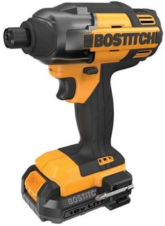 Bostitch 18-Volt Li-Ion 1/4 In. Cordless Variable Speed Hex Impact Driver Tool #Bostitch
