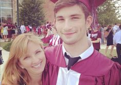 A mother's letter to her son on his high school graduation day. Sponsored Sponsored A mother's letter to her son Senior Year Of High School, High School Graduation, Graduate School, High School Seniors, Son Graduating High School, Graduation Day Quotes, Graduation Pictures, Graduation Ideas, Graduation 2015