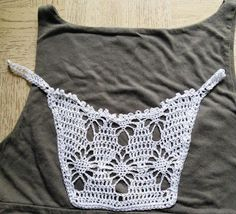 Sweet Nothings Crochet: CLIP ON MOCK CAMISOLE