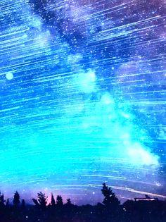 Yuumei Art, Sea Of Stars, Northen Lights, Light Painting, Optical Illusions, Good Vibes, Beautiful World, Prompts, Sparkles