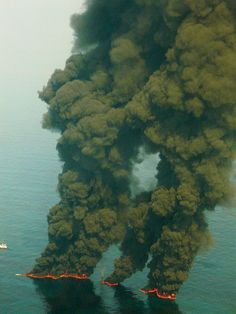 Volcanic activity below the water - this is how many new islands are formed.