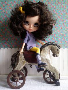 Botas altas cowboy azules para Blythe y Pure neemo de BlytheMayson en Etsy                                                                                                                                                                                 Más