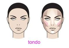 Contouring correttivo viso tondo   Make up Pleasure