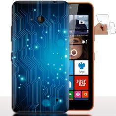Coque de Nokia Lumia 640 Carte mere Gamer - Housse Silicone. #Gamer #Nokia640 #Coque