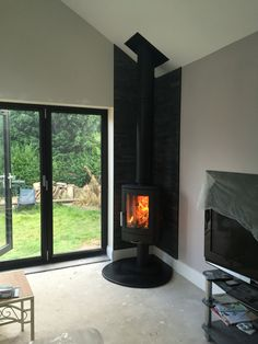 ACR Neo 3P stove installed in Preston