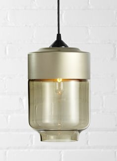 Cylinder pendant by Hennepin Made | Flodeau.com