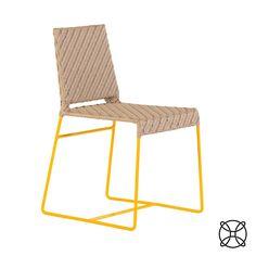 Design | Dona Flor Mobília | Cadeira | Amarelo