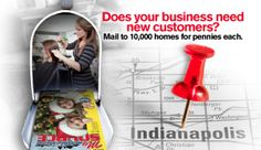 """Market to your potential customer base with targeted mailings with My Neighborhood Source! Ask about our """"New Clients Special"""" and mail to 10,000 homes for as little as $149!"""