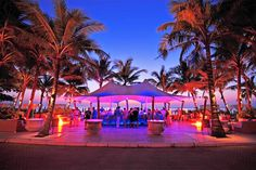 Catch!  Beach Club in Phuket Thailand, great atmosphere, lots of umbrella drinks :)