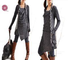 Long long braids - vagabond cotton tunic dress set (Q1501) by idea2lifestyle on Etsy https://www.etsy.com/listing/215037940/long-long-braids-vagabond-cotton-tunic