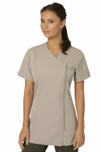 Belle Tunic SILVER #salon #spa #hair #beauty #uniform http://www.salonweardirect.co.uk/Tunics/Belle-Tunic-SILVER-GREY/prod_3.html