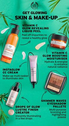 Sunshine, fresh colours and glowing skin is IN Get ready for t is part of Body shop skincare - SUMMER'S HERE! Sunshine, fresh colours and glowing skin is IN Get ready for the sun… Beauty Care, Beauty Skin, Beauty Hacks, Face Beauty, Beauty Tutorials, Body Shop At Home, The Body Shop, Body Shop Skincare, Beauty Tips For Face