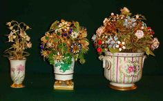 Image result for floral arrangement in antique container