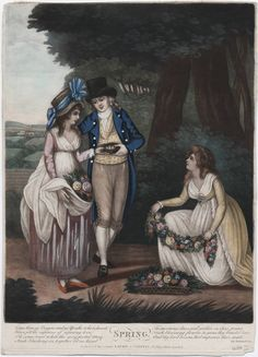 Spring, Published 12th May 1794 by Laurie & Whittle, 53 Fleet Street, London