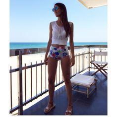 Happy Friday! #surania #bikinis #summer @my_blue_suitcase Custom made swimwear I www.surania.com