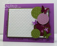 love the colors and everything on the side of this card