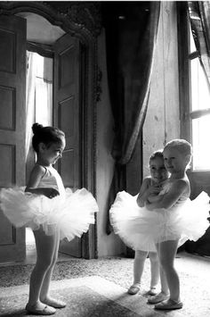 .Never forget that little girl who wants to be a ballerina..