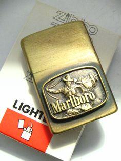 Vintage Marlboro Zippo sold for $461.00 by Navybrat22