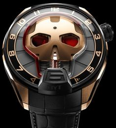 HYT Skull Eye Red Watch - Perpetuelle.com