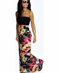 boohoo Floral Bandeau Maxi Dress - multi azz10313 Move over minis, we're all about entrance-making maxi dresses this season. The seasonless style looks effortless for every day in easy-to- wear jersey, toughened up with tread boots . Upgrade for nigh http://www.comparestoreprices.co.uk/dresses/boohoo-floral-bandeau-maxi-dress--multi-azz10313.asp
