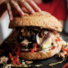 Provencal Tuna Sandwich