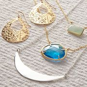Love the layering necklaces look! Take a look at the Argento Vivo event on #zulily today!