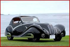 1936 Delahaye 135 Competition Court Figoni et Falaschi Coupe. Unofficial AllExperts Expert Board: Cars you've probably never seen or heard of before. Retro Cars, Vintage Cars, Design Autos, Art Deco Car, Roadster, Unique Cars, Hot Cars, Bugatti, Concept Cars