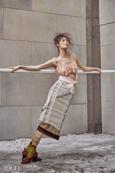 """Ballet Fairy"": Kim Bo Sung in Vogue Korea February 2015 Vogue Korea, Vogue Spain, Editorial Photography, Photography Poses, Fashion Photography, Lifestyle Photography, Fashion Poses, Fashion Art, Fashion Design"