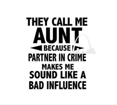 Excited to share this item from my shop: Aunt Partner in Crime svg cut file png dxf Best Aunt Ever gift New Aunt shirts Pregnancy announcement shirts mugs diy svg Silhouette cricut Auntie Quotes, Best Aunt Quotes, Niece Quotes From Aunt, Being An Aunt Quotes, Nephew Quotes, Super Mom Quotes, Aunt Sayings, Pregnancy Announcement Gifts, Pregnancy Shirts