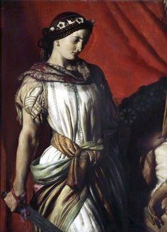 Judith and Holofernes John Rogers Herbert Walker Art Gallery Book Of Judith, Judith And Holofernes, Feminist Icons, Walker Art, Academic Art, Pre Raphaelite, Historical Art, Art Uk, Godly Woman