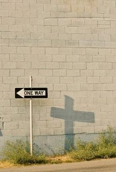 Jesus on the cross is the one way to God.