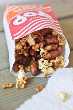 Popcorn Party Mix | Bake Your Day