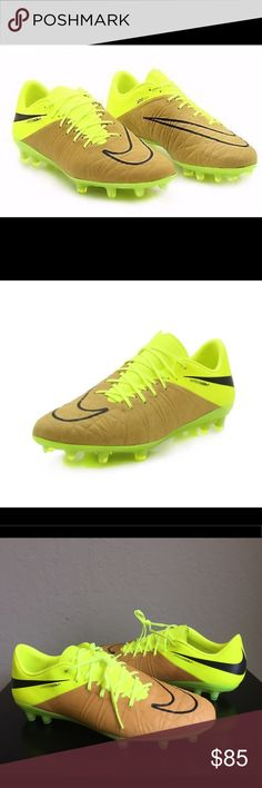 Nike Hypervenom Phinish Tech Craft FG Soccer Cleat Brand : Nike   Color: Canvas/Volt/Black  Size : US Men's 9  Style Code : 807237-505  The Nike Hypervenom Phinish is the same shoe worn by Wayne Rooney and Neymar has been spotted in them too. This shoe is the truth. When you want unrivaled agility, total control, and much more, you look no further than at these bad boys. The Nike HyperVenom Phinish Tech Craft (FG) Men's Firm-Ground Football Boot is built for unrivaled agility on firm ground…